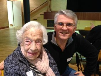 Volunteer turns 100